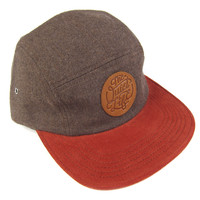 Quiet Life: Day Flannel 5 Panel Hat - Brown