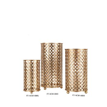Antique Brass Candle Holder (S) | Liang & Eimil Trellis