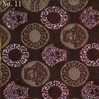 Versace Fabric No.11 (brown tan and silver) -