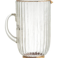 Textured Glass Pitcher - from H&M