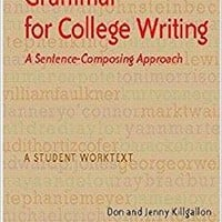 Grammar for College Writing Student