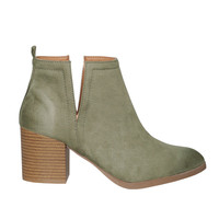 Irina Cutout Ankle Boots-FINAL SALE