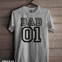 Gifts for Dad Shirt, New Dad T-shirt, Dad Gifts for new Dad Unisex Father Clothing Style 100% Cotton Outfit