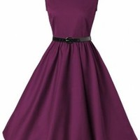 Lindy Bop 'Audrey' Classy Vintage Style 1950's Rockabilly Swing Evening Dress