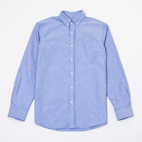 Statesman Oxford Longsleeve Button-Up in Blue
