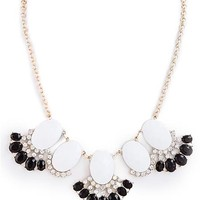 Bejeweled Dangle Necklace