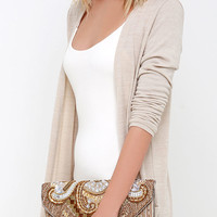 Constantinople Gold Beaded Clutch