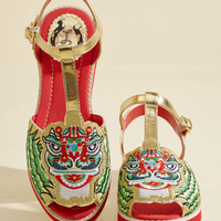 May I Have This Dragon Dance? Sandal | Mod Retro Vintage Sandals | ModCloth.com