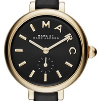 MARC BY MARC JACOBS 'Sally' Leather Strap Watch, 28mm | Nordstrom
