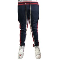 Navy 2 Stripe Jogger Sweatpants