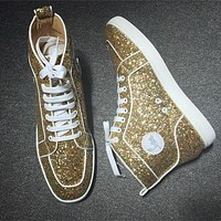 Christian Louboutin CL Style #2283 Sneakers Fashion Shoes Best Deal Online