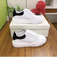 McQueen Fashion Men Women's Casual Running Sport Shoes Sneakers   Slipper Sandals High Heels Shoes