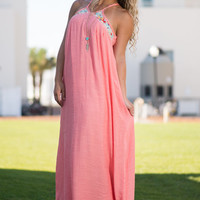 That's A Total Summer Maxi Dress, Coral