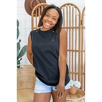 Out For The Day Top - Black