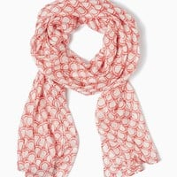 Skinny Scallop Scarf | Fashion Accessories – Scarves - Sealife | charming charlie