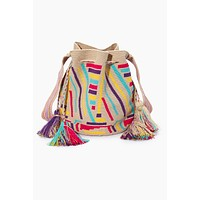 Pance Special Edition Bucket Bag - Rainbow Stripe Print
