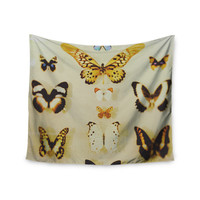 """Chelsea Victoria """"The Butterfly Collection"""" Photography Blue Wall Tapestry"""