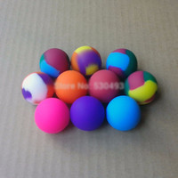 2PC Ball Shape Silicone Container Box