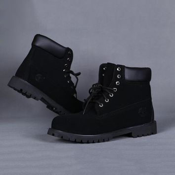 Timberland Women Leather Lace-Up Waterproof Boots Shoes
