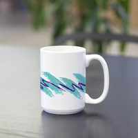 Jazz Cup Retro 90's Print Coffee / Tea Mug