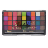 36 Color Shimmer Eye Shadow Cosmetics Naked Makeup Matte Eyeshadow Palette With Brush Makeup Set