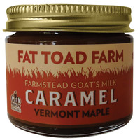 Fat Toad Farm Goat's Milk Caramel Vermont Maple, Sweet Toppings, 2 oz