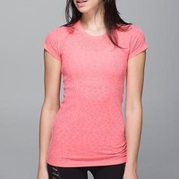 Lululemon Casual Running Gym Yoga Sport Ventilation Shirt Top Tee