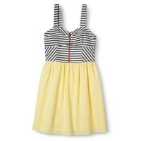 Xhilaration® Junior's Striped Bustier Dress - Assorted Colors
