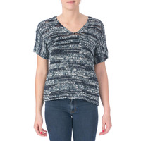 Eileen Fisher Womens Knit Dolman Sleeves Pullover Top