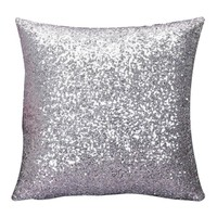 Sequin Throw Pillow Cover