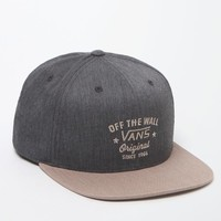 Vans Warren Snapback Hat - Mens Backpack - Black/Tan - One