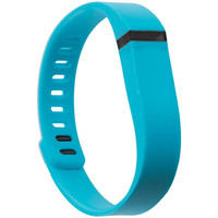 Fitbit Flex Replacement Wrist Band With Clasps Size Large - Baby Blue