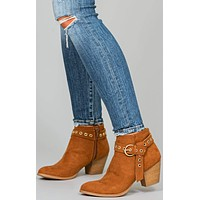 Morissa Buckle Booties