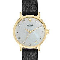 Kate Spade Monogram Metro Watch