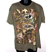 Mossy Oak Mens T Shirt Camouflage XL Its Not A Passion Its An Obsession Pimatee