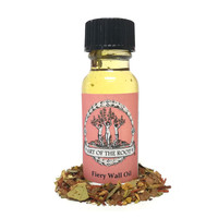 Fiery Wall of Protection Oil 1/2 oz for Hoodoo, Conjure, Vodoo & Pagan Ceremonies