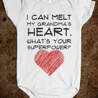 i can melt my grandma's heart. what's your superpower? - glamfoxx.com