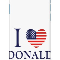 I Love Donald Trump Phone Case