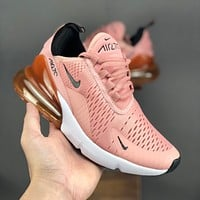 Nike Air Max 270 Rose Pink Running Shoes - Best Deal Online