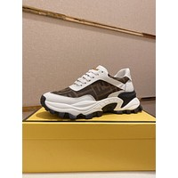 FENDI Men Fashion Boots fashionable Casual leather Breathable Sneakers Running Shoes0526dp