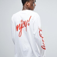 Reclaimed Vintage X Coca Cola Oversized Long Sleeve T-Shirt at asos.com