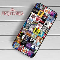 Broadway Musical Collage Case -5TL for iPhone 4/4S/5/5S/5C/6/6+,samsung S3/S4/S5/S6 Regular/S6 Edge,samsung note 3/4