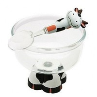 Cute Brutes Ice Cream Bowl and Spoon by MSC - 12 oz