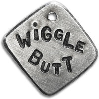 Fetching Tags Wiggle Butt Dog Tag