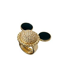 Minnie Mawi By Disney Couture Swarovski Crystal Mickey Ring at asos.com