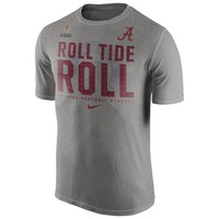 Alabama Crimson Tide Nike 2015 College Football Playoff Bound Team Legend T-Shirt – Gray
