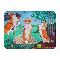 Corgi Birth of Venus Machine Washable Memory Foam Mat 7319RUG