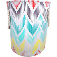 Canvas Laundry Hamper with Rope Handles