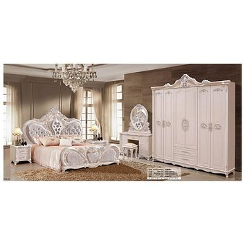Luxury Full Bedroom Set Furniture For Royal  Decor