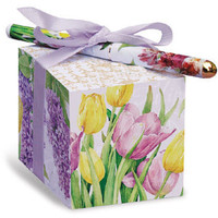 Tulip Paper Note Block with Pen